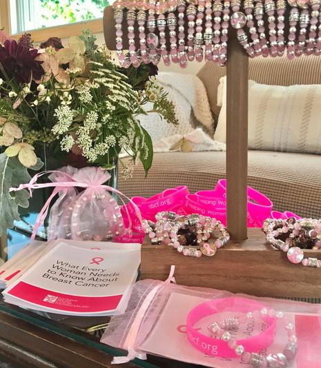 National Breast Cancer Awareness Month Bracelets