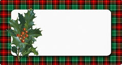 vintage_holly_red_green_plaid_blank_holi