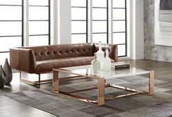 LAZARE COFFEE TABLE ROSE GOLD