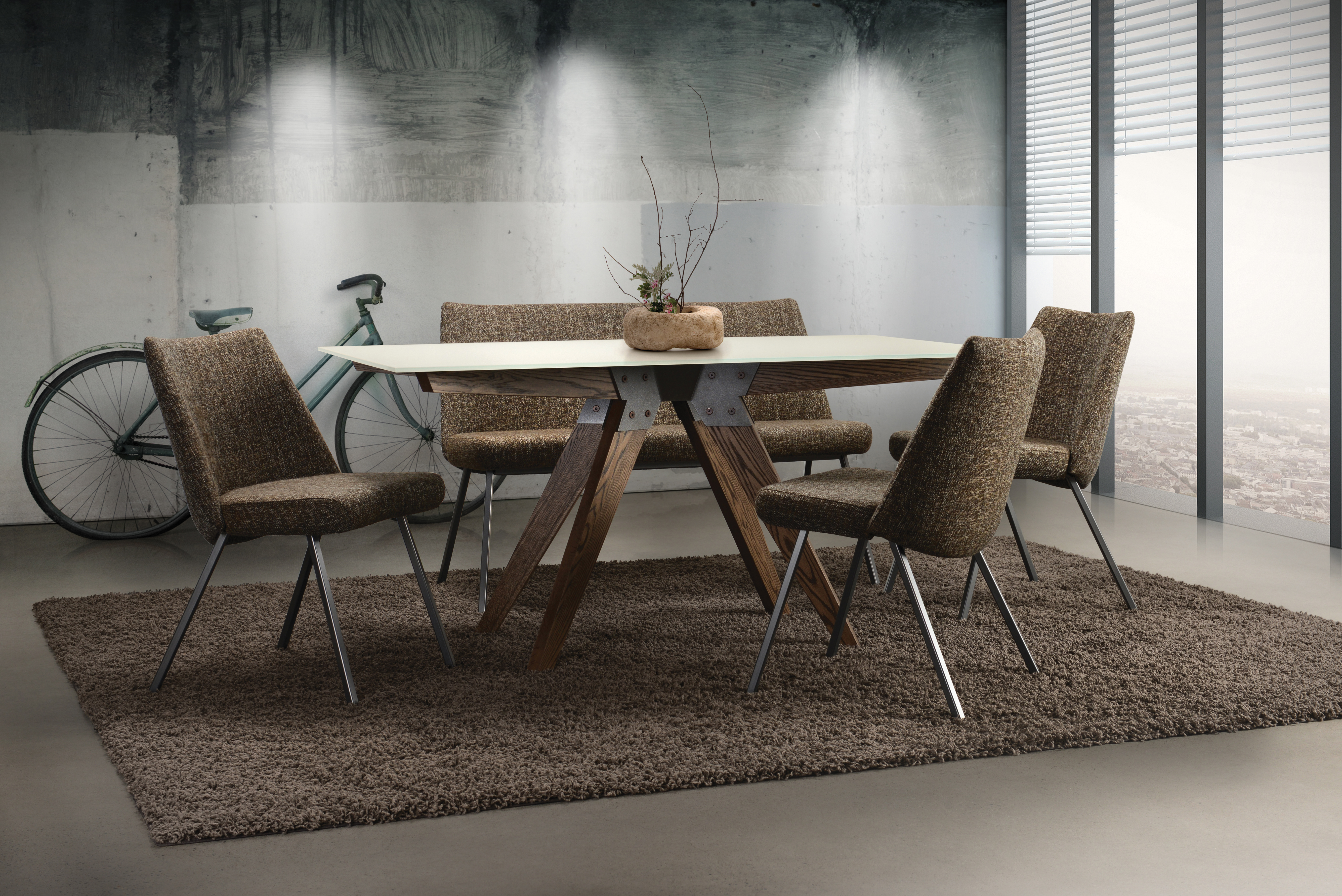 SOUL TABLE LOLA CHAIRS