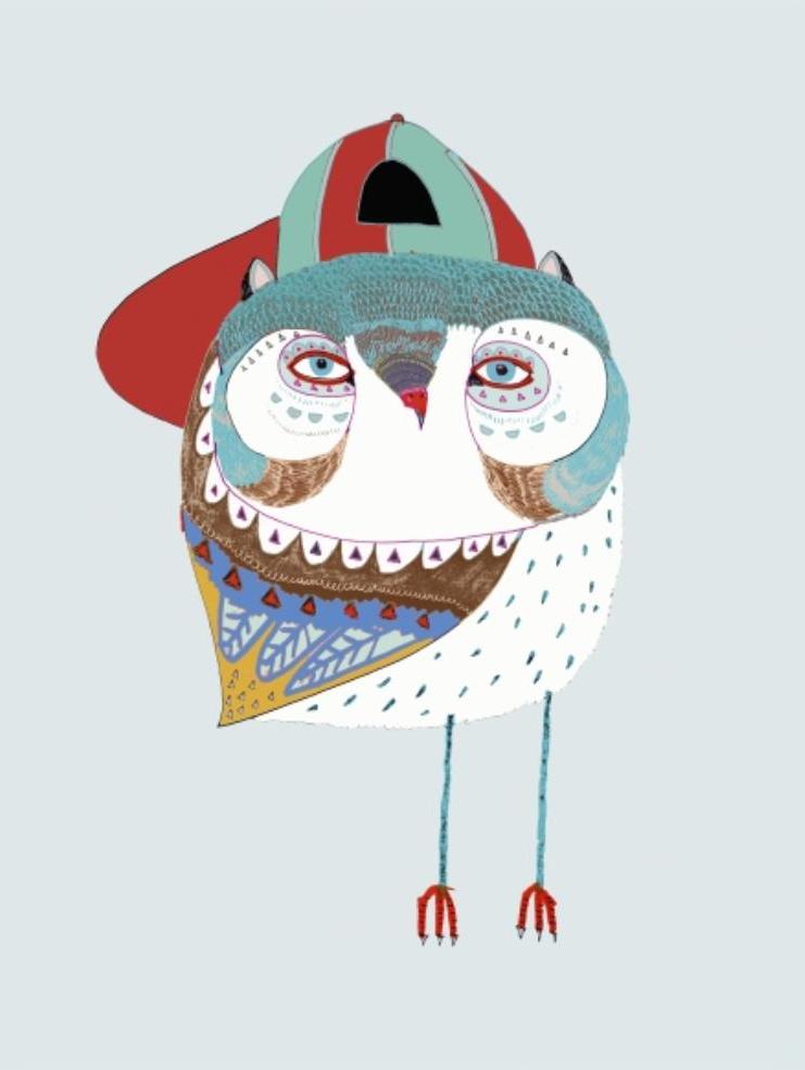 BABY OWL DUDE