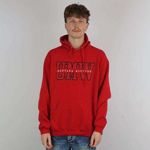 Russel Athletic Vintage Red Montana Hoodie