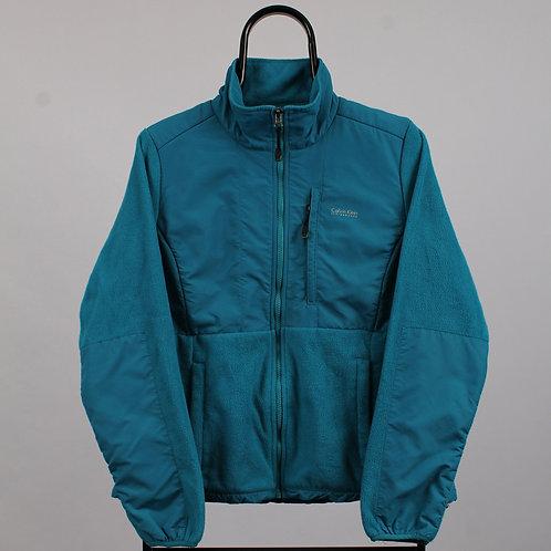 Calvin Klein Vintage Blue Fleeced Jacket