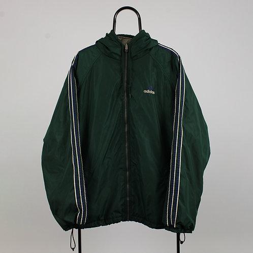 Adidas Vintage Green Reversible Coat