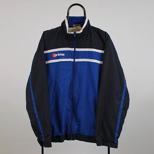 Vintage Erima Blue Tracksuit Jacket