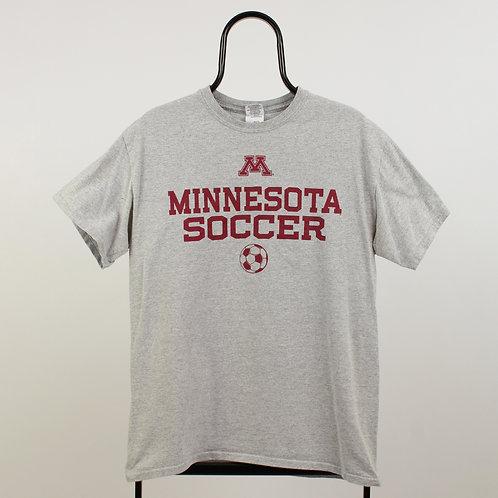 Vintage Grey Minnesota Soccer TShirt