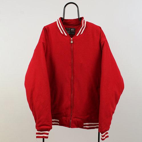 Vintage Red Varsity Jacket