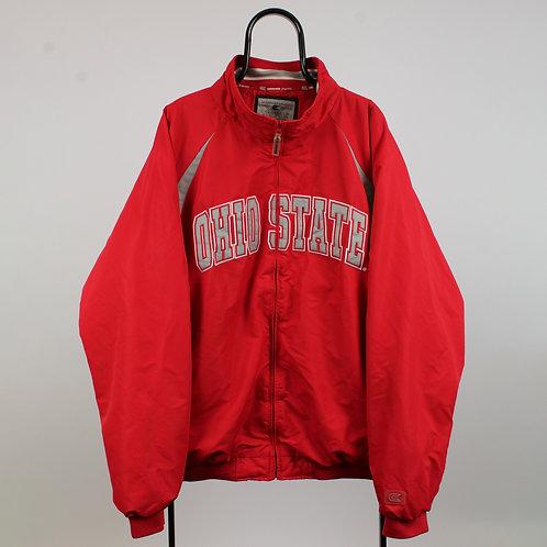 Vintage Colosseum Athletics Ohio State NCAA Red Jacket