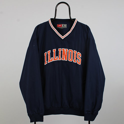 ProPlayer Vintage Navy Illinois Tracksuit Top