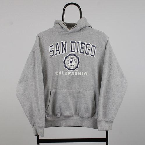 Vintage Grey San Diego Hoodie