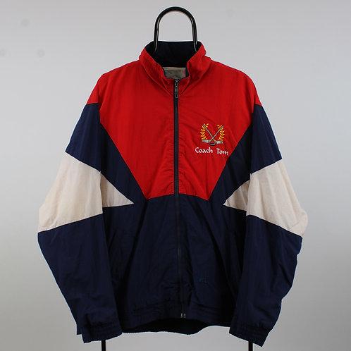 Vintage Kobe Red and Navy Windbreaker Jacket