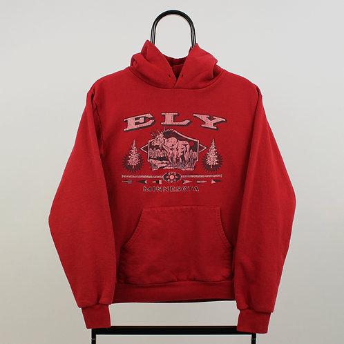 Vintage Red ELY Hoodie