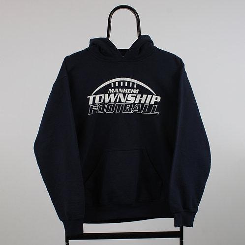 Vintage Navy Township Football Hoodie