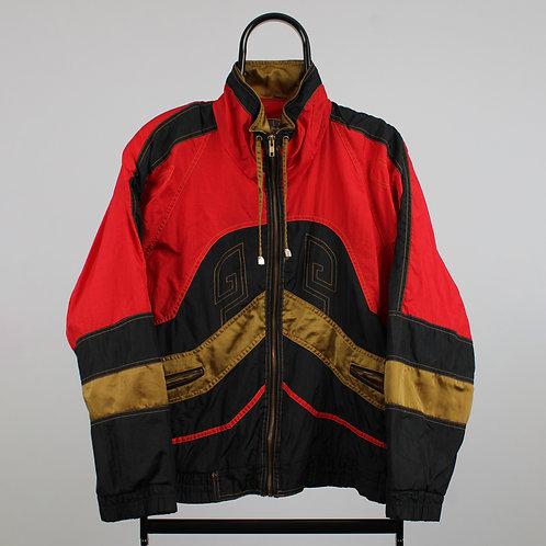 Vintage 90s Giacca Red Windbreaker Jacket