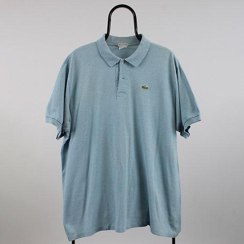 Lacoste Vintage Pastel Blue Polo Shirt