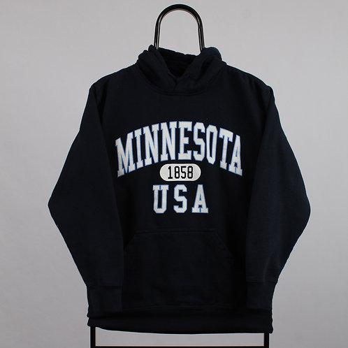 Vintage Navy Minnesota Hoodie