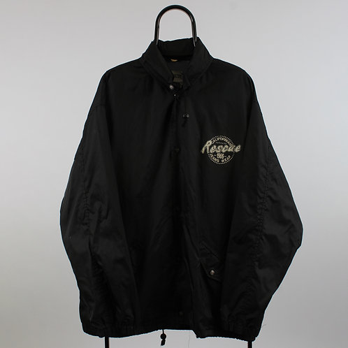 Vintage California Rescue Black Jacket