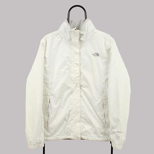 The North Face White Rain Jacket