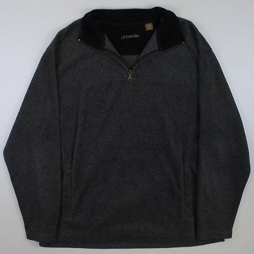 St John's Bay Grey 1/4 Zip Fleece