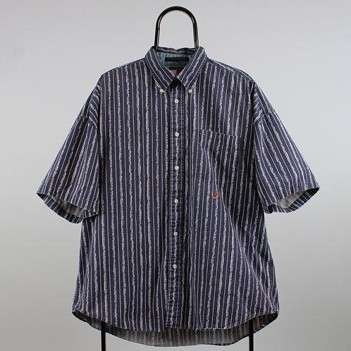 Tommy Hilfiger Vintage Navy Striped Shirt