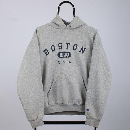 Champion Grey Boston Hoodie