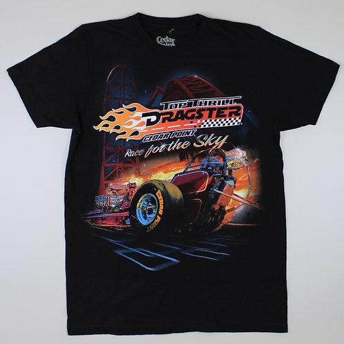 Vintage Black 'Dragster' T-Shirt