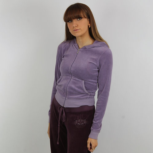 Juicy Couture Vintage Purple Tracksuit Hoodie
