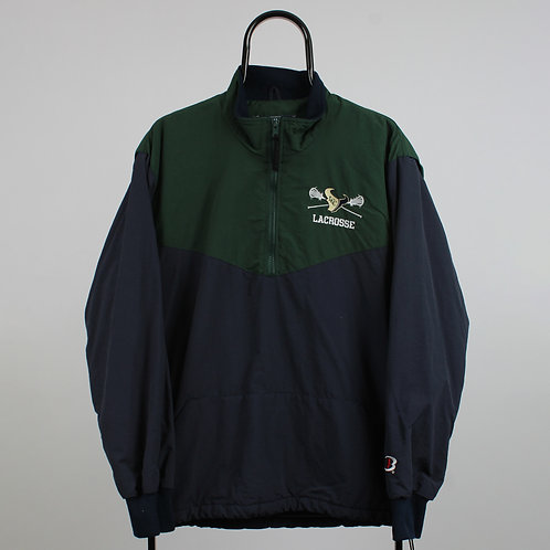 Vintage Boathouse Sports Mavericks Lacrosse Navy Tracksuit Jacket
