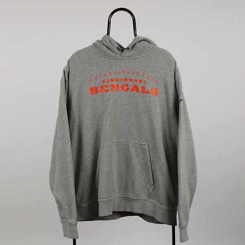 Nike NFL Vintage Grey Cincinnati Bengals Hoodie