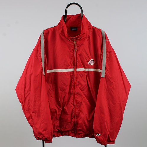 Pro Player Vintage Red Ohio State NCAA Jacket