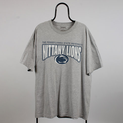 Vintage Grey Nittany Lions TShirt