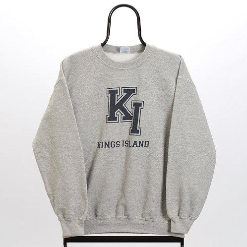 Vintage Grey Kings Island Sweatshirt