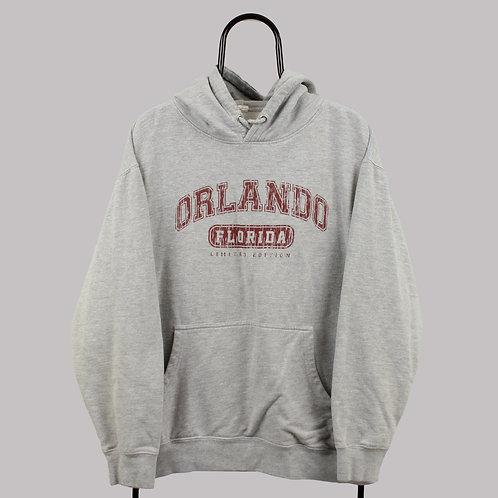 Vintage Grey Orlando Florida Hoodie