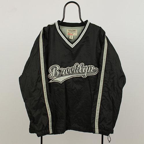 Vintage Steve & Barrys Black Brooklyn Tracksuit Top