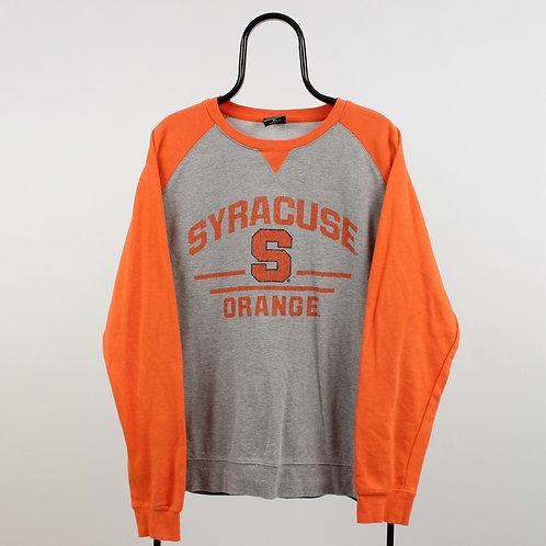 Vintage Grey Syracuse NCAA Sweatshirt