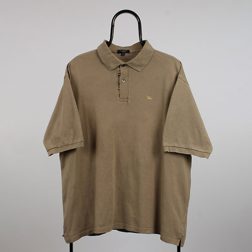 Burberry Vintage Beige Polo Shirt