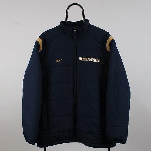Nike Vintage Brigham Young Navy Jacket