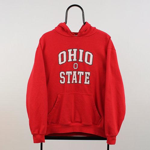 Vintage Red Ohio State NCAA Hoodie