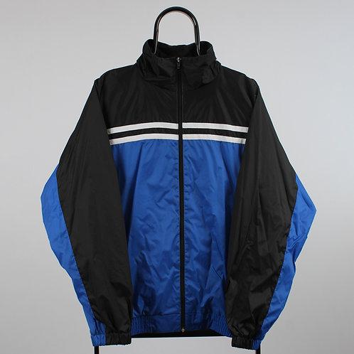 Vintage Big Creek Blue and Black Windbreaker Jacket