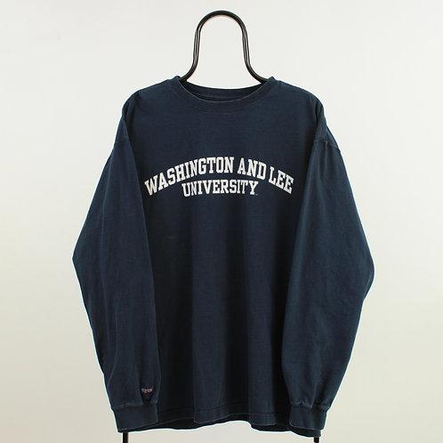 Vintage Washington and Lee Navy TShirt
