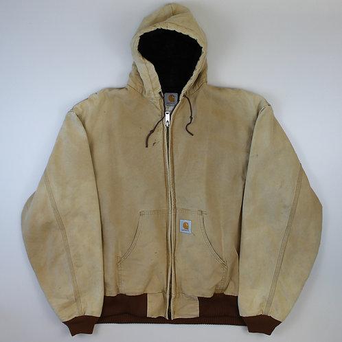 Carhartt Hooded Beige Coat