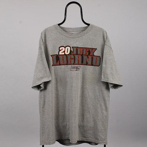 Nascar Vintage Grey Joey Logano TShirt