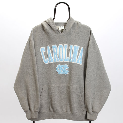 Vintage Grey North Carolina NCAA Hoodie