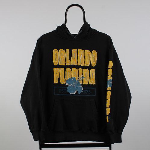 Vintage Black Orlando Florida Hoodie