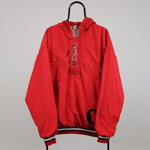 Vintage Red Buckeyes Windbreaker Jacket