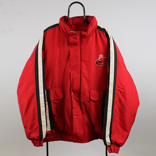Logo Athletic Vintage Red Cincinnati Bearcats Coat