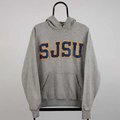Champion Vintage Grey SJSU Hoodie