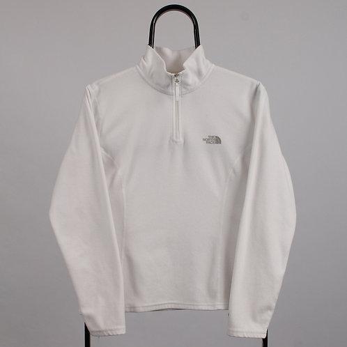 The North Face Vintage White 1/4 Zip Lightweight Fleece