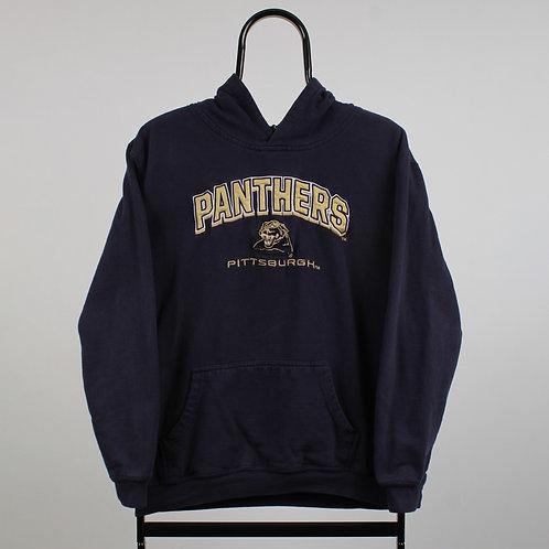 Vintage Navy NCAA Pittsburgh Panthers Hoodie