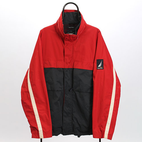 Nautica Vintage Red and Navy Jacket
